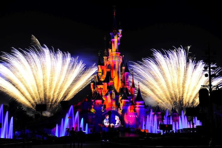 Sylwester w Disneylandzie